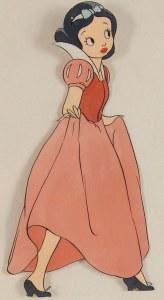Le premier design de Blanche Neige
