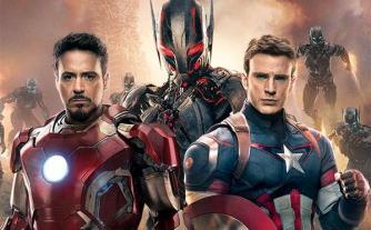 Iron Man, Captain America et Ultron de Avegenrs 2