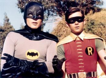 Batman et Robin, parlant sérieusement