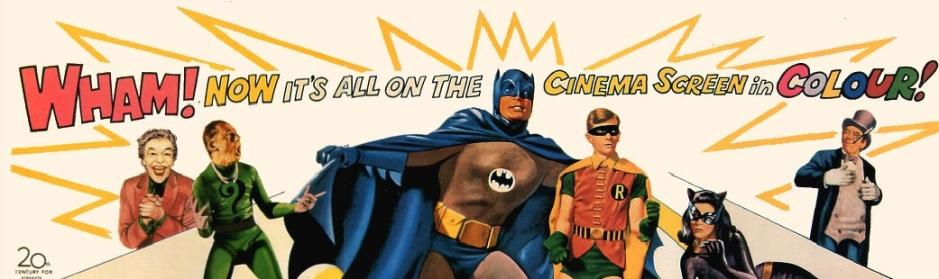 Batman et Robin, cernés par leurs ennemis (poster du film)