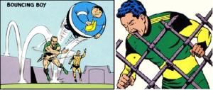 Bouncing Boy et Matter Eater Lad, deux héros oubliables de DC Comics