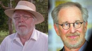 John Hammond et Steven Spielberg côte à côte.