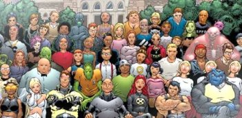 Les X-men et leurs étudiants