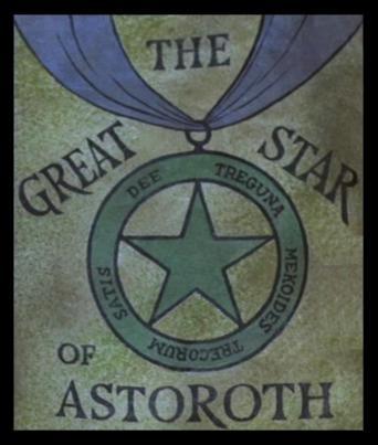 Dessin représentant l'étoile d'Astaroth.