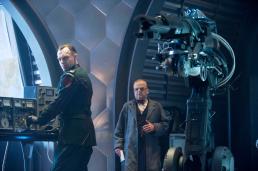 Image tirée de Captain America où l'on voit des agents de l'Hydra.