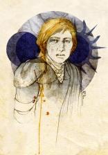 Raison pour laquelle Brienne of Tarth fait partie de mes personnages favoris de ASOIAF. Elle a tout du cliché de la lesbienne, mais elle aime des hommes. Des hommes comme Renly et Jaime, mais des hommes quand même.