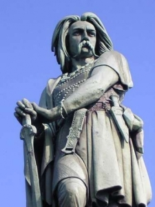 Statue de Vercingétorix à Alésia.