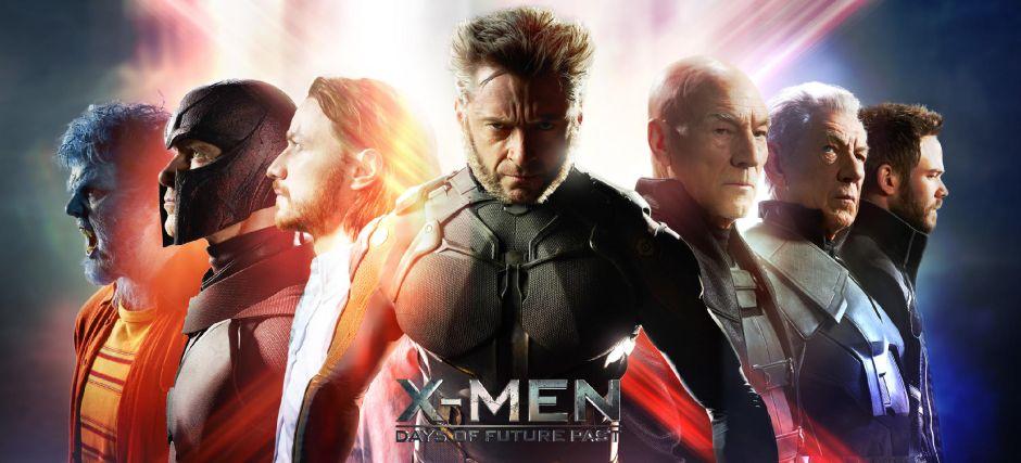 Un poster du film X-Men : Days of Future Past