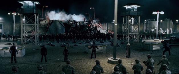 Des soldats désemparés face à une armée de mutants