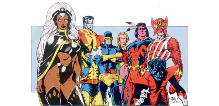 L'équipe des X-men dans les années 70