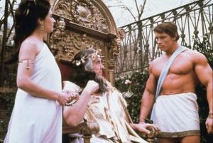 Arnold Schwarzenegger en Hercule.