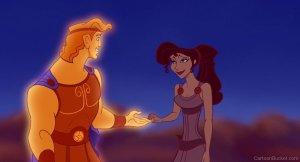 Hercule crée volontiers du lien entre les hommes et les dieux, grâce à sa partie divine.