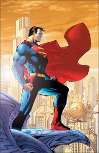 Superman par Jim Lee.