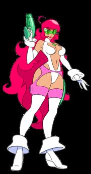 Sidera, princesse galactique imaginée dans le film Lou, Journal Infime.