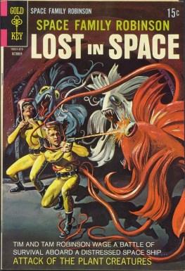 Une couverture d'un comic book de Space Opera.