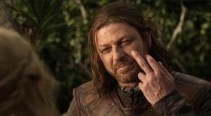 """""""Tu vois mon doigt ?"""""""