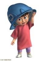 Boo, la petite fille de Monstres et Compagnie.