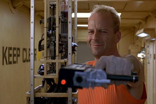 Bruce Willis dans le cinquième élément