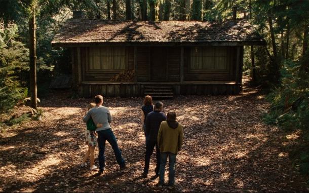 La fameuse cabane dans les bois.
