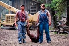 Tucker et Dale, les héros malgré eux d'une autres parodie de films d'horreur.