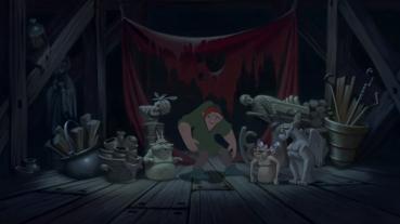 """""""Mais si je te jure, elles parlent !"""" - c'est pour ça plus que pour son apparence que Quasimodo est seul."""