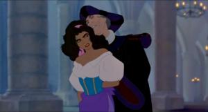 Vous imaginez, 87 minutes de Frollo qui sniffe les cheveux d'Esméralda et/ou essaie de la violer ? C'est pas très Disney ça...