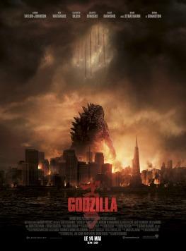 L'affiche du film Godzilla de 2014.