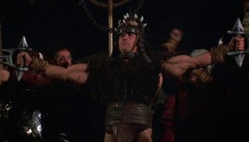 Conan en gladiateur.