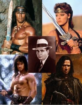 Robert Howard et ses personnages adaptés au cinéma