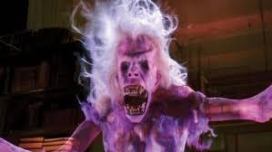 Un fantôme des films Ghostbuster