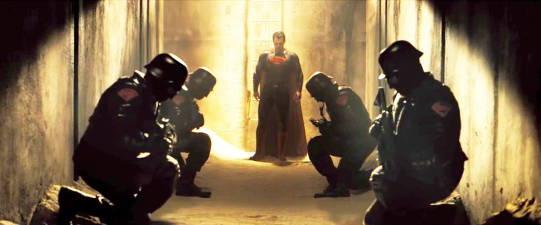 Extrait du trailer de Batman VS Superman