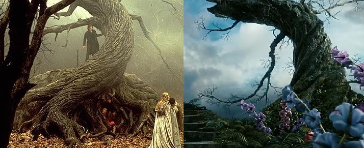 Il vous faudra beaucoup de mauvaise foi pour venir me dire que ce n'est pas DU TOUT le même arbre.