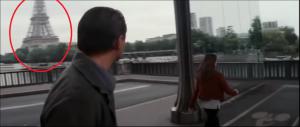 A moins que Paris n'ait été choisie que pour ça #EiffelTowerSpotted.