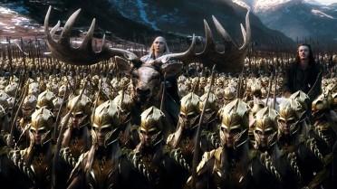 L'armée des elfes dans le Hobbit visiblement composée de clones.