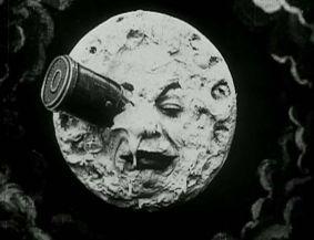 La célèbre lune borgne de Georges Méliès