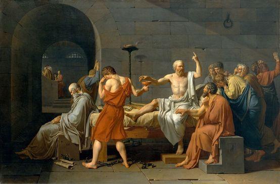 """""""Je ne sais qu'une chose : je suis teubé !"""" Socrate... plus ou moins."""