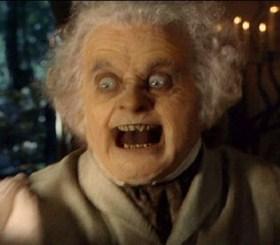 Ou alors il aurait fallu faire tout le film en imaginant que Bilbo fait cette tête.