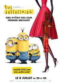 L'affiche du film d'animation les Minions