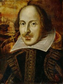 """Portrait de William Shakespeare, inventeur du Swag dans """"Songe d'une nuit d'été"""""""
