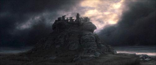 Les ruines d'Amon sul sur le Mont Venteux.