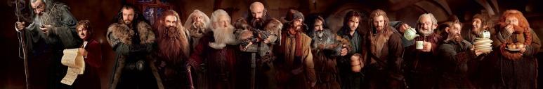 La compagnie du Hobbit.