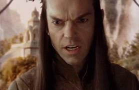 Elrond, fâché.
