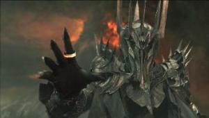 Sauron tel que vu dans la Communauté de l'anneau