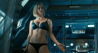 La fille en sous-vêtements de Star Trek Into Darkness
