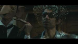 La Gueule, Gainsbourg et l'Homme à tête de chou réunis par la magie du reflet.