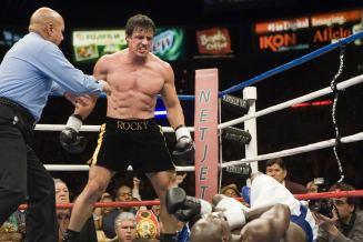 Rocky Balboa prouvant qu'il n'a pas dit son dernier mot.