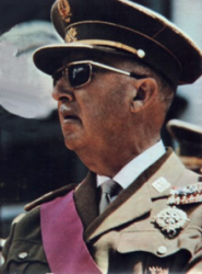 Francisco Franco en 1969