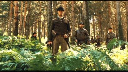 Les rebelles dans les bois.