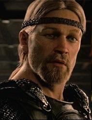 Le héros du film la Légende de Beowulf.