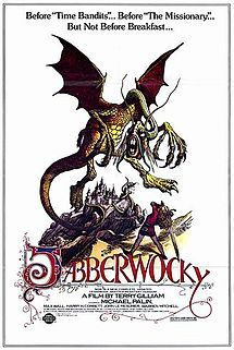 Affiche du film Jabberwocky de Terry Gilliam